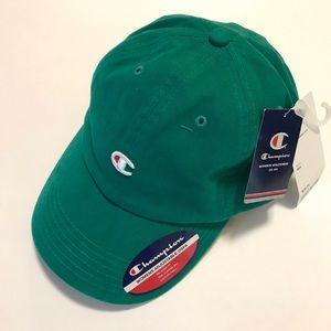 Champion UO Washed Twill Baseball Hat Green NWT